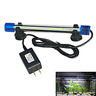Fish Aquarium LED Light White Durable LED Lamp V Plastic