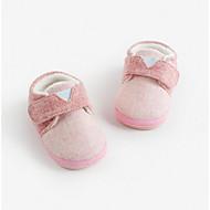 baratos Sapatos de Menino-Para Meninos / Para Meninas Sapatos Algodão Outono Conforto Rasos para Bébé Azul / Rosa claro