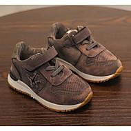 baratos Sapatos de Menino-Para Meninos / Para Meninas Sapatos Couro Ecológico Primavera & Outono Conforto Tênis Velcro para Infantil Preto / Cinzento / Verde