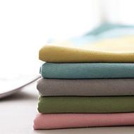 billige Gardiner ogdraperinger-gardiner gardiner Soverom Ensfarget Bomull / Polyester Garn Bleket
