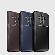 billiga Mobil cases & Skärmskydd-fodral Till Huawei Huawei Mate 20 Lite / Huawei Mate 20 Pro Frostat Skal Enfärgad Mjukt TPU för Mate 10 / Mate 10 pro / Mate 10 lite