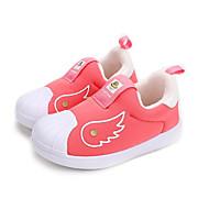 baratos Sapatos de Menino-Para Meninos / Para Meninas Sapatos Algodão Outono & inverno Primeiros Passos Tênis para Bebê Roxo / Pêssego / Vermelho