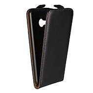 billiga Mobil cases & Skärmskydd-fodral Till HTC U Ultra / HTC U Play med stativ / Lucka Fodral Enfärgad Hårt Äkta Läder för HTC U Ultra / HTC U Play / HTC One M9
