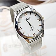 billige Quartz-Dame Kjoleur Armbåndsur Quartz Afslappet Ur Sej Legering Bånd Analog Elegant Minimalistisk Sølv - Sølv