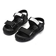 baratos Sapatos de Menino-Para Meninos / Para Meninas Sapatos Microfibra Verão Conforto Sandálias para Bébé Preto / Vermelho