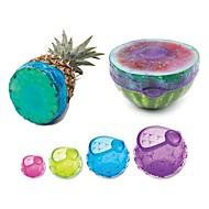 tanie Akcesoria do owoców i warzyw-Narzędzia kuchenne Krzem Przyjazne dla środowiska / Kreatywny gadżet kuchenny Narzędzia Owoc / warzyw 4 szt.