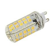 billige Kornpærer med LED-1pc 5 W 480 lm G9 LED-kornpærer T 80 LED perler SMD 5730 Dekorativ Varm hvit / Kjølig hvit 110-120 V