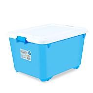 billige Lagring og oppbevaring-PP Rektangulær Kreativ Hjem Organisasjon, 3pcs Oppbevaringskasser