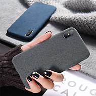 Capinha Para Apple iPhone XR / iPhone XS Max Antichoque / Ultra-Fina Capa traseira Sólido Macia Silicone para iPhone XS / iPhone XR / iPhone XS Max