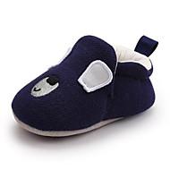 baratos Sapatos de Menina-Para Meninos / Para Meninas Sapatos Algodão Primavera & Outono Primeiros Passos Tênis para Bebê Azul Escuro / Castanho Claro / Khaki
