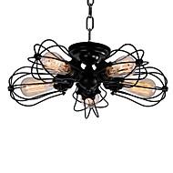 billige Taklamper-QINGMING® Vintage Takplafond Nedlys - Mini Stil Pære Inkludert, 110-120V 220-240V, Varm Hvit, Ja Pære Inkludert
