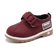 baratos Sapatos de Menino-Para Meninos / Para Meninas Sapatos Couro Ecológico Primavera Conforto Oxfords para Bébé Preto / Amarelo / Vinho