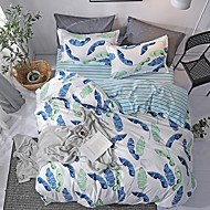 billige Moderne dynetrekk-Sengesett Moderne Polyester / Bomull Reaktivt Trykk 4 delerBedding Sets / 300 / 4stk (1 Dynebetræk, 1 Lagen, 2 Pudebetræk)