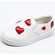 baratos Sapatos de Menino-Para Meninos / Para Meninas Sapatos Pele Napa / Couro Ecológico Primavera / Outono Conforto Tênis para Infantil Branco