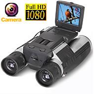 Zoom fs608 dijital dürbün teleskop kamera 5mp cmos sensör 2.0 '' tft full hd 1080 p dvr fotoğraf video kayıt usb dürbün