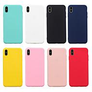 pouzdro pro přístroj iPhone xr xs xs max matné zadní kryt pevné barevné měkké tpu pro iPhone x 8 8 plus 7 7plus 6s 6s plus se 5 5s