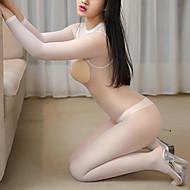 Mujer Súper Sexy Teddy / Body Ropa de dormir - Malla, Ocasión especial Un Color