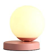 billige Skrivebordslamper-Moderne Moderne Søtt / Smuk Bordlampe / Skrivebordslampe Til Stue / Innendørs Metall 110-120V / 220-240V Rosa / Gul / Grå