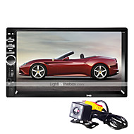 BYNCG 7018WG 7 pollice 2 Din Windows CE 6.0 In-Dash DVD Player per Universali / Universale Supporto / MP4 / Scheda TF