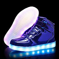 tanie Obuwie chłopięce-Dla chłopców / Dla dziewczynek Obuwie PU Jesień i zima Świecące buty Adidasy LED na Dzieci / Dla nastolatków Czarny / Różowy / Królewski błękit