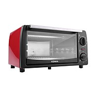 konka kao -1202e forno elétrico - vermelho