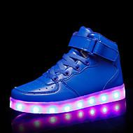 tanie Obuwie chłopięce-Dla chłopców / Dla dziewczynek Obuwie Syntetyki Jesień i zima Świecące buty Adidasy LED na Dzieci / Dla nastolatków Biały / Różowy / Królewski błękit