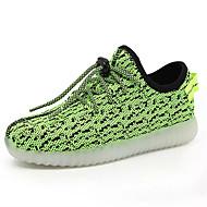 tanie Obuwie chłopięce-Dla chłopców Obuwie Tiul Jesień Świecące buty Buty do lekkiej atletyki Spacery LED na Niebieski / Zielony / Różowy