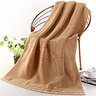 baratos Toalha de Banho-Qualidade superior Toalha de Banho, Sólido Algodão puro Banheiro 1 pcs