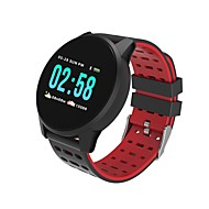 Kimlink W1 Smartklokke Android iOS Bluetooth Pulsmåler Blodtrykksmåling Kalorier brent Distanse måling Pedometer Samtalepåminnelse Aktivitetsmonitor Søvnmonitor Stillesittende sittende Påminnelse