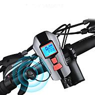 billige Sykkellykter og reflekser-sykkel glødelamper / Frontlys til sykkel / Bike Horn Light LED Sykkellykter Sykling Vanntett, Fort Frigjøring, Holdbar Oppladbart Batteri 1000 lm Oppladbart Batteri Hvit Camping / Vandring / Grotte