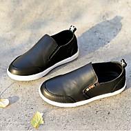 baratos Sapatos de Menino-Para Meninos Sapatos Pele Primavera & Outono Conforto Mocassins e Slip-Ons para Infantil Branco / Preto / Amarelo