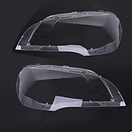 cheap Car Light Decoration-2pcs Car Car Light Covers Transparent New Design for Headlamp For BMW 2008 / 2009 / 2010