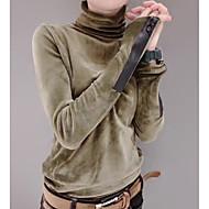 女性用 Tシャツ ベーシック ソリッド