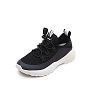 baratos Sapatos de Menino-Para Meninos / Para Meninas Sapatos Lona Verão Conforto Tênis para Infantil Branco / Preto