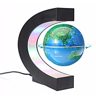 cheap Decorative Objects-Levitation Anti Gravity Globe Magnetic Floating Globe World Map teaching resources home Office Desk Decoration