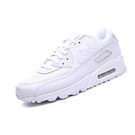 Per uomo Scarpe comfort Di pelle Primavera & Autunno scarpe da ginnastica Footing Prova di usura Bianco