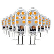billige Bi-pin lamper med LED-10pcs 3 W 200-300 lm G4 LED-lamper med G-sokkel T 12 LED perler SMD 2835 Smuk 220-240 V