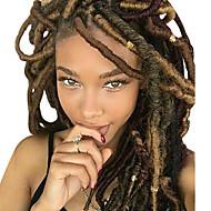 Braiding Hair Curly Dreadlocks / Faux Locs Synthetic Hair 1pack, 24 roots / pack Hair Braids 14 inch Medium Length Soft / New Arrival / 100% kanekalon hair