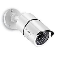 billige Overvåkningskameraer-ZOSI 1AC-2612C-W 1/3 tomme CMOS IR kamera / Vanntett Kamera / Kulekamera H.264 IP66