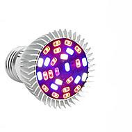 billige Spotlys med LED-1pc fullspektral led vokse pære e27 / gu10 / e14 28leds vokse plante lys for hydroponics drivhus organisk ac85-265v