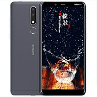 "NOKIA nokia 3.1plus 6 tommers "" 4G smarttelefon ( 3GB + 32GB 13 mp / 5+5 mp MTK Helio P22 3500 mAh mAh )"