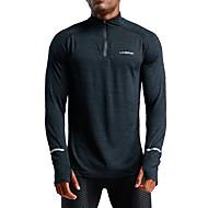 UABRAV Erkek Yüksek Yaka Fermuar Ceket izle Siyah Spor Dalları Tek Renk Elastane Ceket Kapüşonlu Giyecek Üstler Koşma Fitness Egzersiz yapmak Uzun Kollu Aktif Giyim Rüzgar Geçirmez Nefes Alabilir