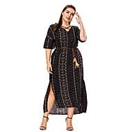 Žene Širok kroj Swing kroj Haljina V izrez Maxi