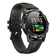 cheap -MY1 Men Smartwatch Android iOS Bluetooth Smart Sports Waterproof Heart Rate Monitor Blood Pressure Measurement ECG+PPG Stopwatch Pedometer Call Reminder Activity Tracker / Touch Screen / Long Standby