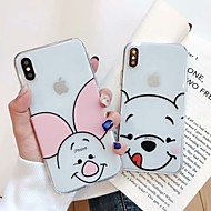 hoesje Voor Apple iPhone XS Max / iPhone 6 Patroon Achterkant Cartoon Zacht TPU voor iPhone XS / iPhone XR / iPhone XS Max