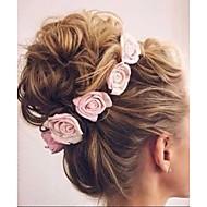 Bébé Fille Basique / Doux Fleur Noeud Rayonne Accessoires Cheveux Rose Claire / Fuchsia / Arc-en-ciel Taille unique