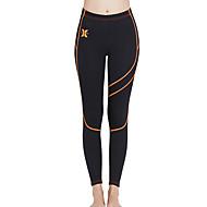 Per donna Pantaloni muta 1,5 mm SCR Neoprene Pantaloni Tenere al caldo Sport acquatici Collage Autunno Primavera Estate / Elevata elasticità