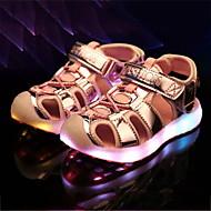 Chico / Chica Zapatos PU Verano Confort Sandalias para Niños / Adolescente Plateado / Azul / Rosa