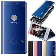 Etui Käyttötarkoitus Xiaomi Redmi Note 7 / Redmi 6 Pinnoitus / Peili / Flip Suojakuori Yhtenäinen Kova PC / silikageeli varten Redmi Note 5A / Xiaomi Redmi Note 5 Pro / Xiaomi Redmi Huomautus 5