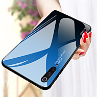 케이스 제품 Xiaomi 미 9 / Mi 9 SE 충격방지 뒷면 커버 컬러 그라데이션 하드 TPU / 강화 유리 용 Xiaomi Mi Max 3 / Xiaomi Mi 8 / Xiaomi Mi 8 Lite